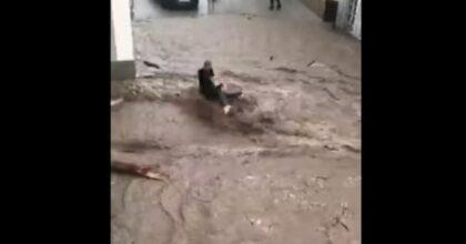 Alluvione Hallein Austria