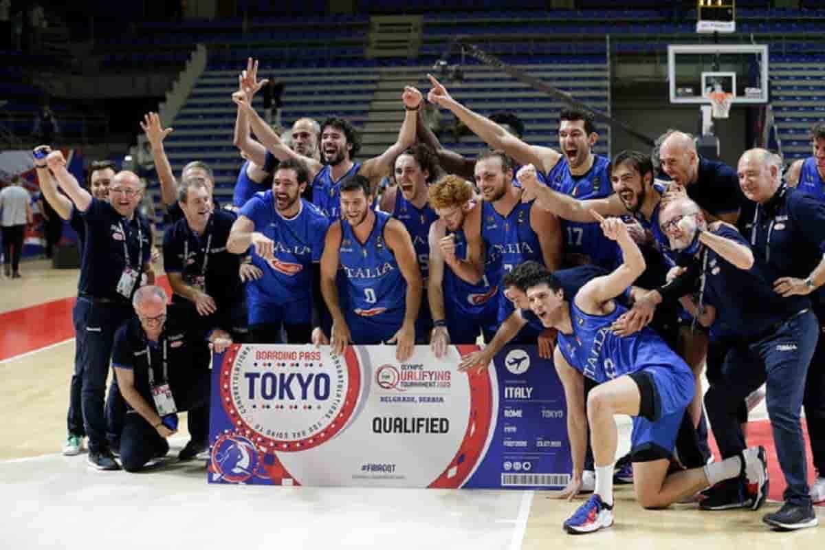 Basket, Italia alle Olimpiadi di Tokyo: non accadeva da 17 anni, decisivo il 102-95 alla Serbia