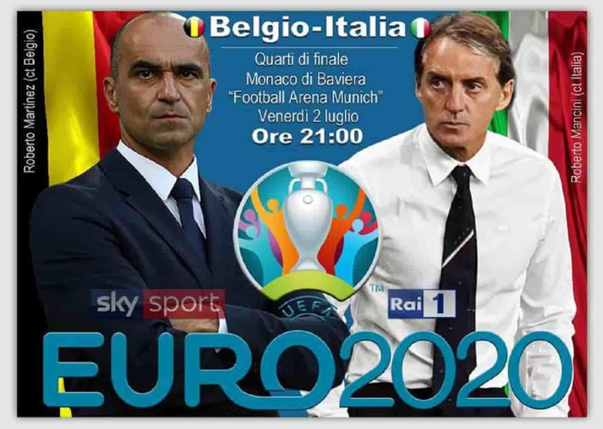 Belgio-Italia formazioni ufficiali: Chiellini e Chiesa dal primo minuto, Mancini lancia i calciatori della Juventus