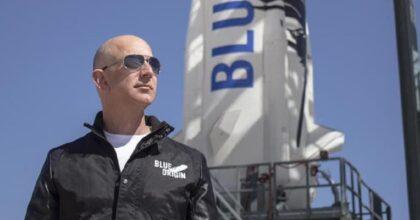 Jeff Bezos, razzo New Shepard nello spazio: dove vedere il lancio in diretta streaming