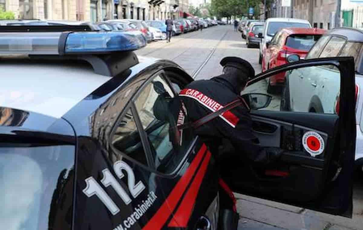 Albenga rapina aggressione carabinieri