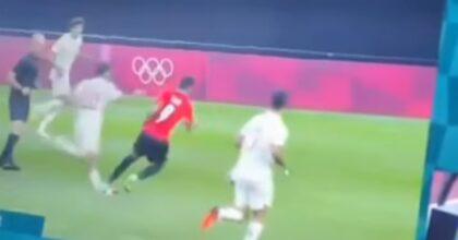 Ceballos, infortunio horror alle Olimpiadi: la caviglia completamente piegata VIDEO