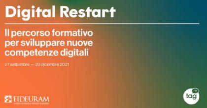 Digital Restart, il primo percorso di reskilling digitale per over 40 senza occupazione