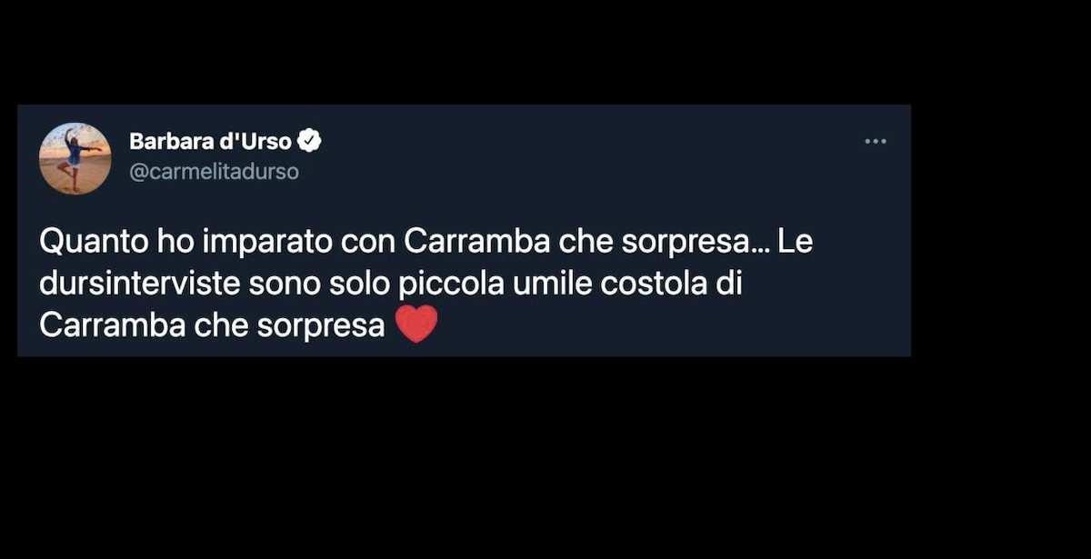 """Barbara D'Urso si paragona a Raffaella Carrà e viene criticata aspramente sui social: """"Non bestemmiare"""""""