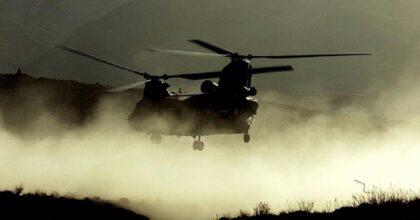Precipita elicottero militare in Iraq durante una missione: morti tutti e 5 i soldati a bordo
