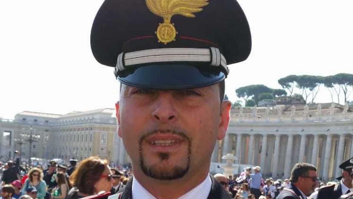Carabiniere morto calcetto