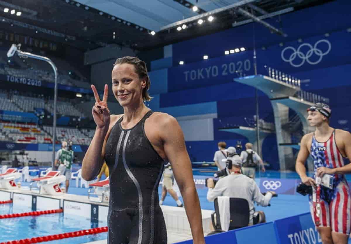 Federica Pellegrini, all'ultima olimpiade finale e record italiano con la 4x100