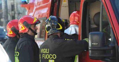 Incendio Fiano Romano