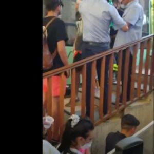 Funivia Monte Faito, cabina bloccata un'ora con 20 persone a bordo per un black out VIDEO