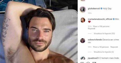 Maria Elena Boschi e la foto di Giulio Berruti: commento col cuore dopo le effusioni in barca