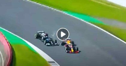 Incidente Hamilton-Verstappen VIDEO Forza d'urto pari a 51 G, pilota olandese in ospedale