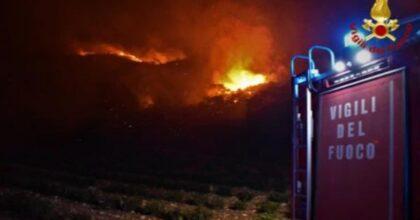 Sicilia, vento caldo e temperature vicino ai 40°: incendi tra Piana degli Albanesi, Altofonte e San Giuseppe Jato