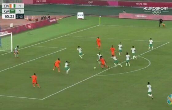 Olimpiadi risultati calcio: Kessie in gol fa vincere la Costa d'Avorio, la Francia ne prende 4 VIDEO