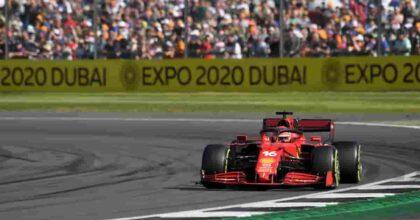 Leclerc sfiora la vittoria a Silverstone, la Ferrari è tornata: ora bisogna sistemare le gomme