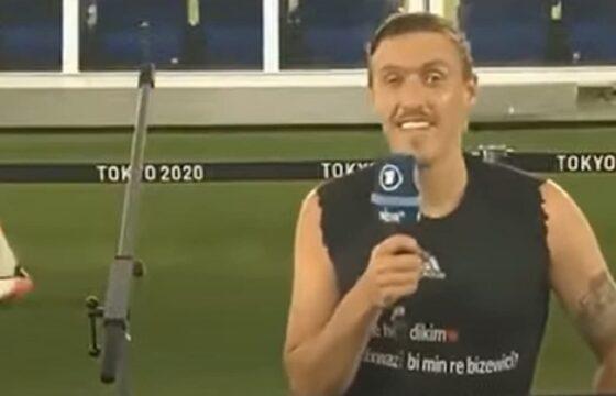 Max Kruse, il calciatore tedesco e la proposta di matrimonio in diretta TV VIDEO