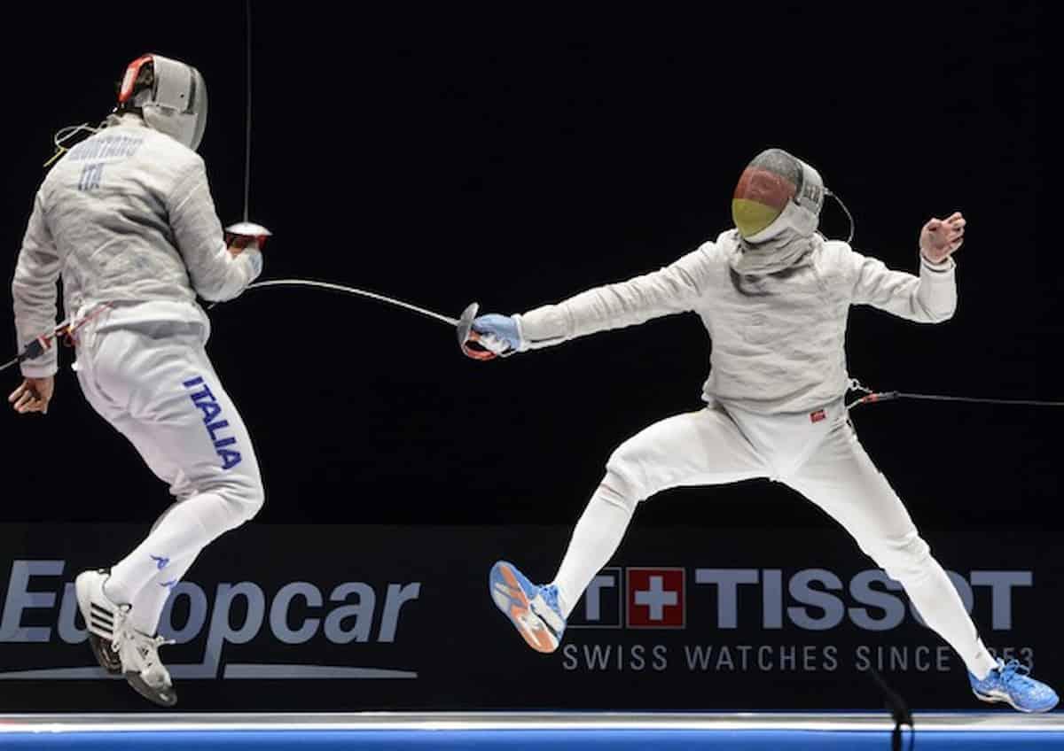 Olimpiadi Italia argento sciabola