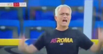 """""""Darboe svegliati ca..."""", la sfuriata di Mourinho durante Roma-Debrecen è virale su TikTok VIDEO YOUTUBE"""