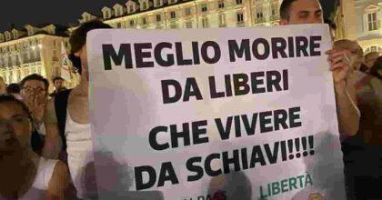 No Green Pass, fronte anti Draghi: sabato manifestazioni in tutta Italia, ricorso discoteche contro Dpcm