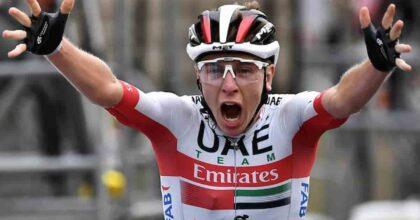 Tour de France sul Mont Ventoux, icona del ciclismo, trionfa il belga Van Aert, Pogacar sempre maglia gialla
