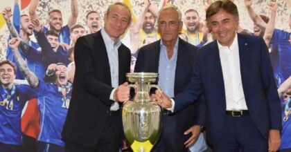 "Gabriele Gravina (Figc): ""Grazie a Poste. Ora l'obiettivo è la qualificazione ai Mondiali"""