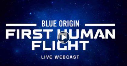 Jeff Bezos nello spazio con l'82enne Wally Funk: diretta decollo razzo Blue Origin nel giorno dello sbarco sulla Luna