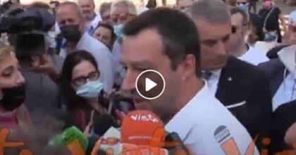 """Salvini e la legittima difesa dell'assessore di Voghera: """"Estrema ratio davanti a un'aggressione"""" VIDEO"""
