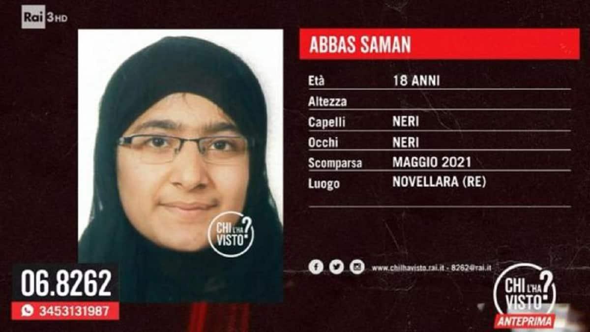 Saman Abbas come Sara Scazzi, dove è sepolta? zio Michele non c'è, arrivano  dalla Germania