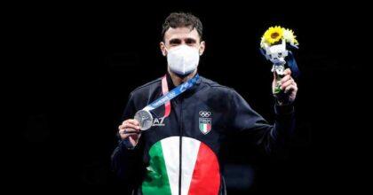 Luigi Samele medaglia d'argento nella sciabola, è la seconda per l'Italia dopo l'oro nel taekwondo