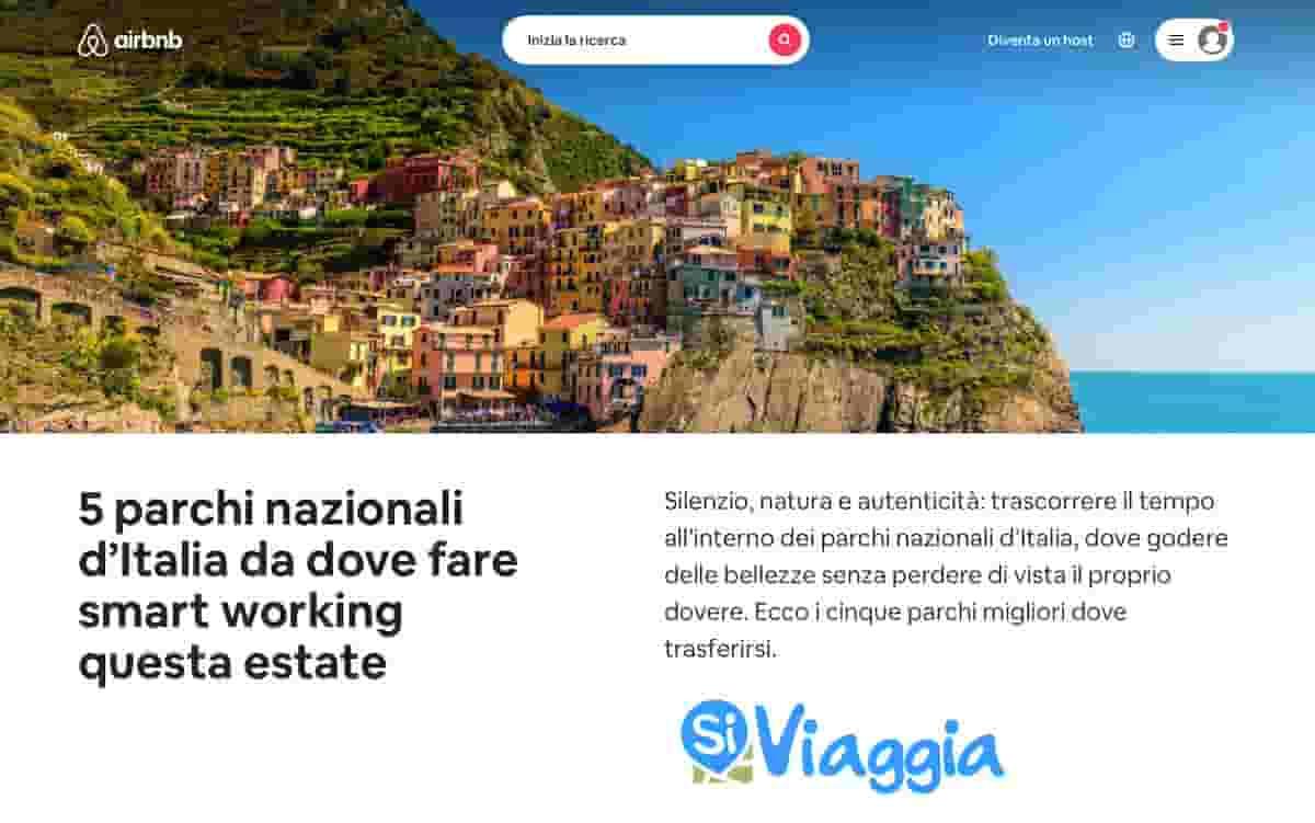 Parchi naturali in Italia: SiViaggia e Airbnb scelgono le migliori vacanze nella natura