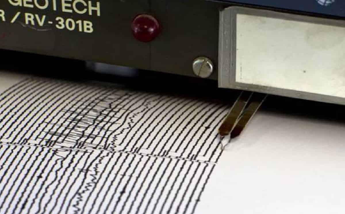Terremoto stretti di Messina, scossa magnitudo 3 davanti alla costa della Calabria