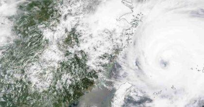 Tifone Nepartak in Giappone cambia rotta, sospiro di sollievo per le Olimpiadi di Tokyo