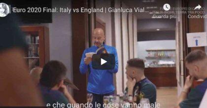 Gianluca Vialli, discorso motivazionale da brividi prima della finale tra Italia e Inghilterra VIDEO