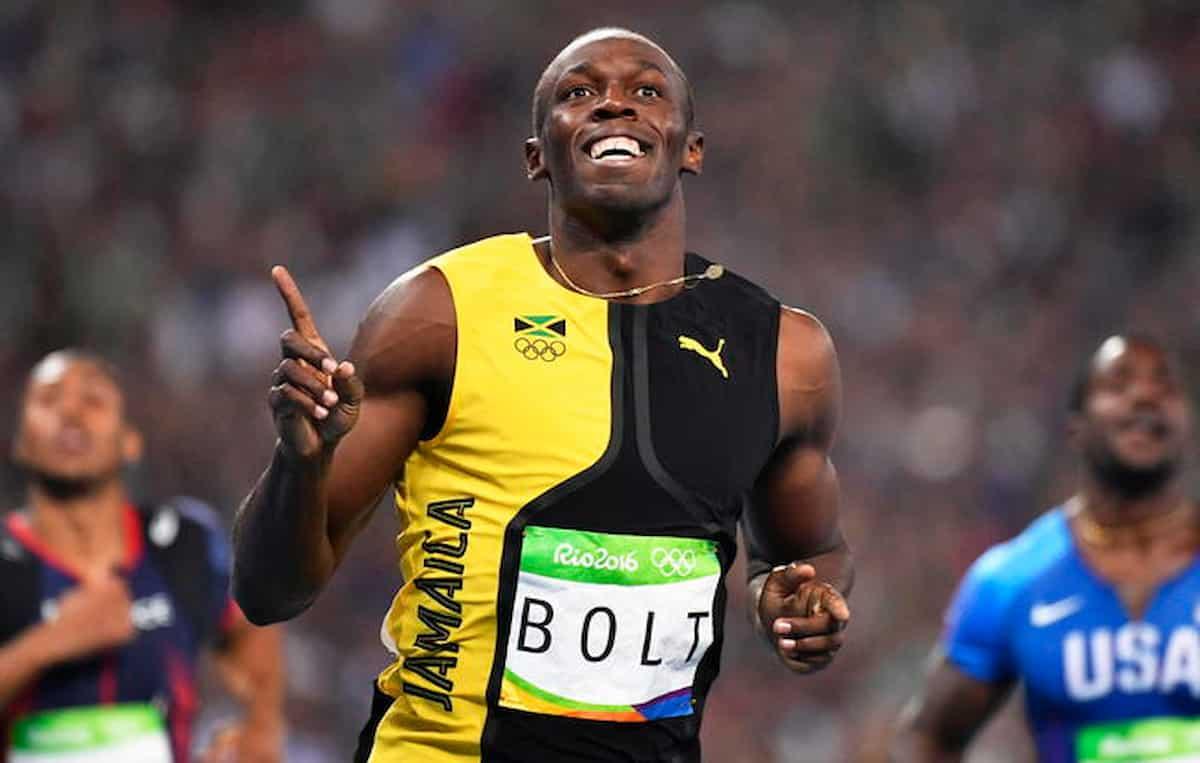 Marcell Jacobs Usain Bolt