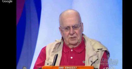 Gianfranco Giubilo morto a 89 anni: giornalista del Tempo e volto noto del Processo di Biscardi