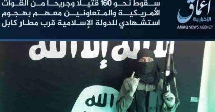 Isis-K rivendica attentato all'aeroporto di Kabul: la FOTO del kamikaze