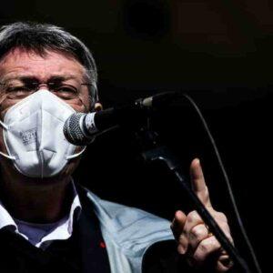 Landini e tutti i sindacati: robusta pacca sulla spalle a tutti i No Vax