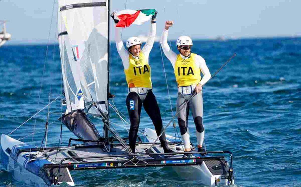 Tokyo 2020, Ruggero Tita e Caterina Banti vincono l'oro nella vela