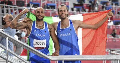 Italia da sogno nell'Atletica, doppia medaglia d'oro con Jacobs e Tamberi a Tokyo