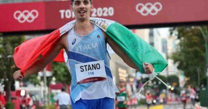 Massimo Stano marcia