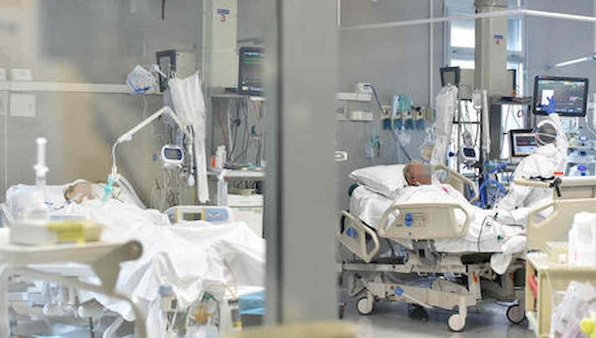 terapia intensiva, foto ansa