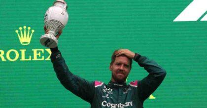 Vettel squalificato, Hamilton secondo, Sainz terzo. Allunga il Re Nero. Furioso Verstappen. Classifica corretta