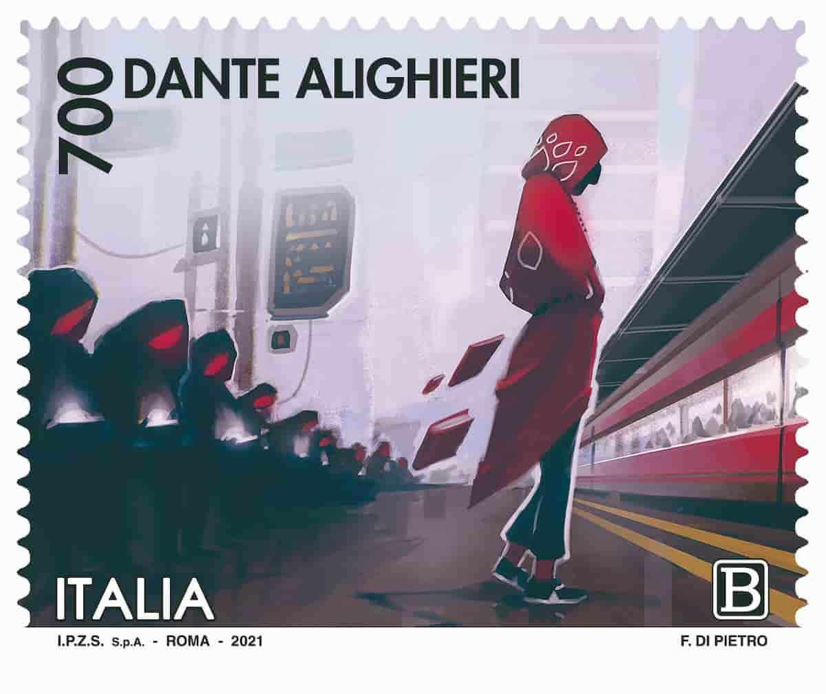 francobolli Dante Alighieri