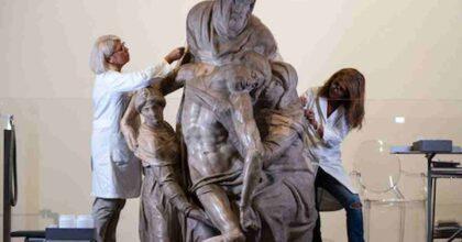 Firenze, restaurata la Pietà di Michelangelo: i lavori erano stati interrotti più volte per il Covid