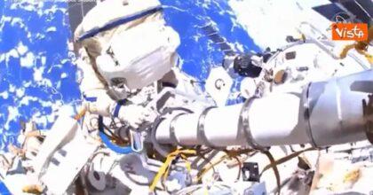 Stazione Spaziale Internazionale, passeggiata nello spazio per gli astronauti Novitsky e Dubrov VIDEO