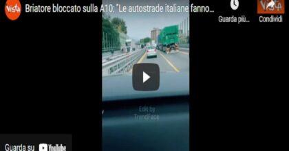 """Flavio Briatore sbotta in auto: """"Le autostrade italiane e chi le amministra fanno schifo"""". La replica di Aspi"""