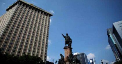 Città del Messico statua Colombo