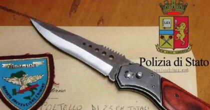 Trieste poliziotto coltellata