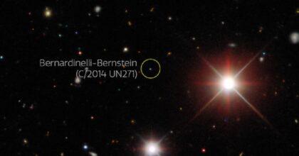 Bernardinelli-Bernstein, nel 2031 nel nostro Sistema Solare passerà la cometa più grande mai vista
