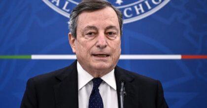 """Mario Draghi: """"L'uso del Green Pass verrà esteso. Violenza No Vax odiosa. Ribadisco l'invito a vaccinarsi"""""""