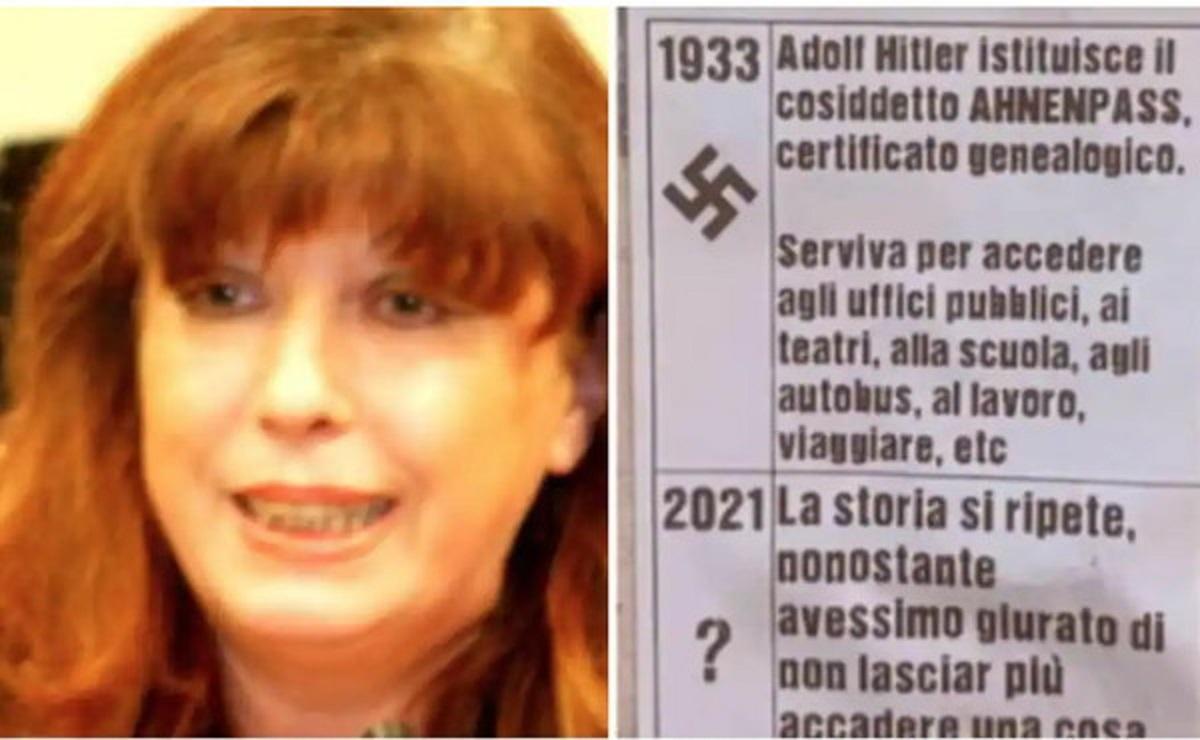 Franca Mattiello, la leghista che paragona il Green Pass al passaporto di Hitler